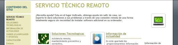 Site Servicio Técnico en Computación
